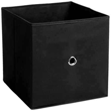 iCube Full Fabric Drawer in Black - Overstock