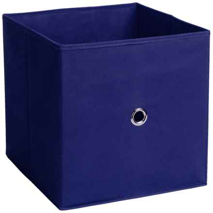 iCube Full Fabric Drawer in Blue - Overstock