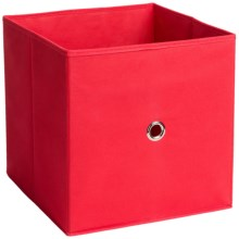 iCube Full Fabric Drawer in Red - Overstock