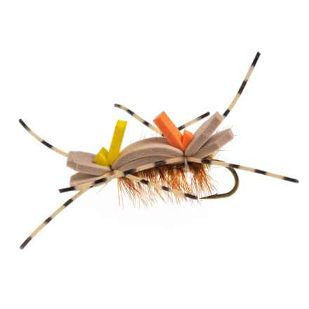 Idylwilde Flies Berrett's Golden Stone Nymph Fly - Dozen in Barred Leg - Closeouts