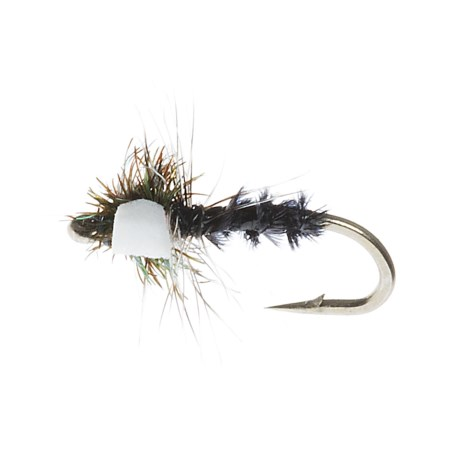 Idylwilde Flies Miracle Midge Emerger Fly - Dozen in Black