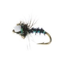 Idylwilde Flies Miracle Midge Emerger Fly - Dozen in Pearl - Closeouts