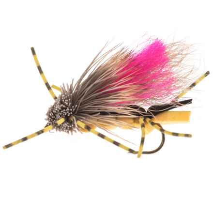 Idylwilde Flies Yeager's Tantrum Dry Fly - Dozen in Golden - Closeouts