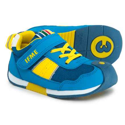 IFME Racer Sneakers (For Boys) in Blue/Yellow - Closeouts