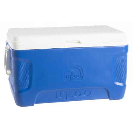 Igloo Contour Cooler - 52 qt. in Blue - Closeouts