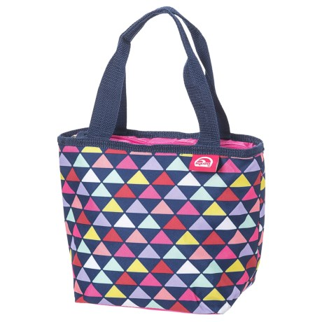 Igloo Geometry Mini Tote Cooler in Grape