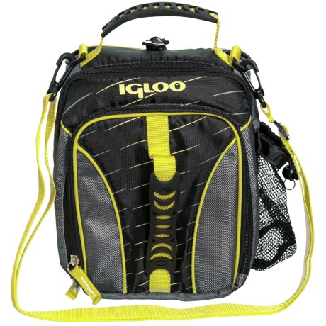 Igloo Hot Brights Vertical Lunch Bag in Volt Yellow
