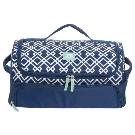 Igloo Party Bag Cooler in Diamond Trellis Navy