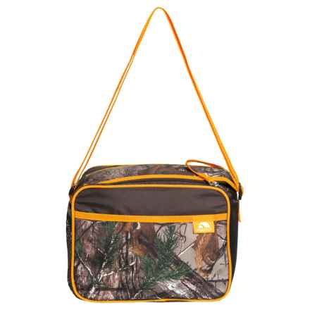 Igloo Quick Zip Lunch Bag in Real Tree Boy - Orange - Closeouts