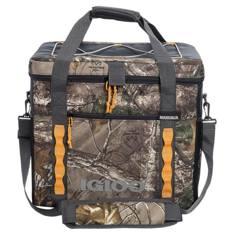 Igloo Realtree® Square Utility 35-Can Cooler Bag in Realtree X-Grey