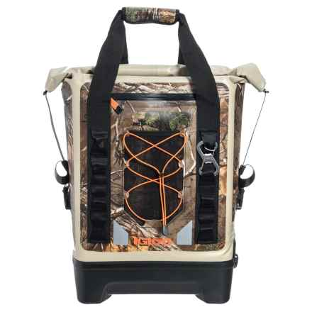 Igloo Sportsman Backpack Cooler - Waterproof, 17 qt. in Realtree - Closeouts