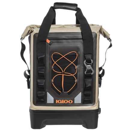 Igloo Sportsman Backpack Cooler - Waterproof, 17 qt. in Tan - Closeouts