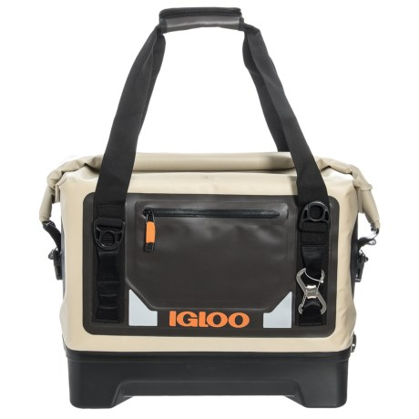 Igloo Sportsman Duffel Cooler - Waterproof, 27 qt. in Tan