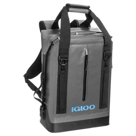 Igloo Wade Welded Backpack Cooler - 13 qt. in Grey - Closeouts