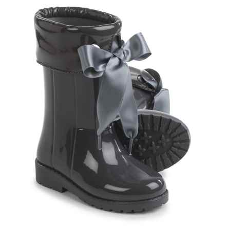Igor Campera Charol Gray Rubber Rain Boots - Waterproof (For Little and Big Girls) in Grey - Closeouts