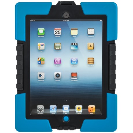 iHome Armo Extreme Rugged iPad® Case in Black/Blue