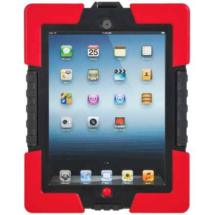 iHome Armo Extreme Rugged iPad® Case in Black/Red - Closeouts