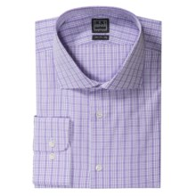 Ike Behar Black Label Check Dress Shirt - Long Sleeve (For Men) in Purple - Closeouts