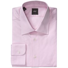 Ike Behar Black Label Dress Shirt - Hairline Stripe, Long Sleeve (For Men) in Pink - Closeouts