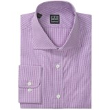 Ike Behar Black Label Mini Check Dress Shirt - Long Sleeve (For Men)