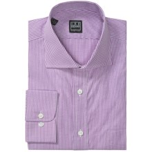 Ike Behar Black Label Mini Check Dress Shirt - Long Sleeve (For Men) in Concord - Closeouts