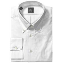 Ike Behar Black Label Shirt - Button-Down Collar, Long Sleeve (For Men) in White - Closeouts