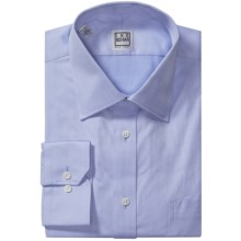 Ike Behar Black Label Textured Cotton Shirt - Long Sleeve (For Men) in Blue Ice - Closeouts