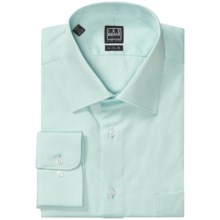 Ike Behar Black Label Twill Dress Shirt - Long Sleeve (For Men) in Lagoon - Closeouts