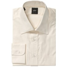 Ike Behar Dress Shirt - Point Collar, Long Sleeve (For Men) in Cream - Closeouts
