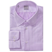 Ike Behar Gold Label Cotton Spread Solid Shirt - Long Sleeve (For Men) in Myrtle - Closeouts