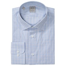 Ike Behar Gold Label Multi-Check Dress Shirt - Long Sleeve (For Men) in Mineral - Closeouts