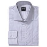 Ike Behar Herringbone Stripe Dress Shirt - Spread Collar, Barrel Cuffs, Long Sleeve (For Men)
