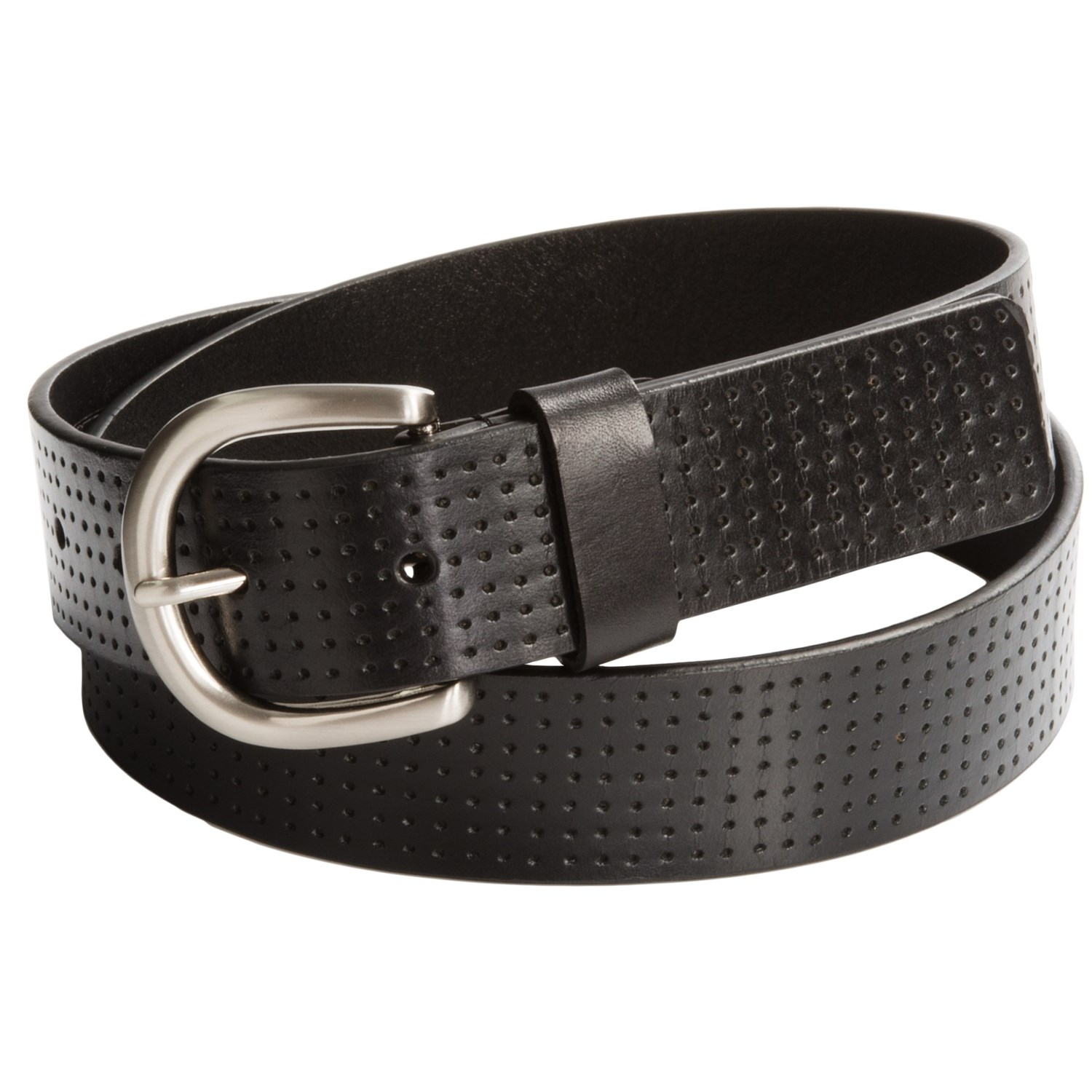 ike behar perforated leather belt for save 66