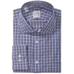 Ike Behar Silver Label Cotton Shirt - Long Sleeve (For Men) in Slate Blue