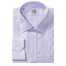 Ike Behar Silver Label Cotton Shirt - Long Sleeve (For Men) in Ice Lilac - Closeouts