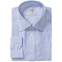 Ike Behar Silver Label Cotton Shirt - Long Sleeve (For Men) in Pearl Blue - Closeouts