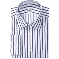 Ike Behar Silver Label Cotton Shirt - Long Sleeve (For Men) in Blue Bay