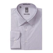 Ike New York Mini-Optic Check Dress Shirt - Slim Fit, Long Sleeve (For Men) in Purple Ash - Closeouts