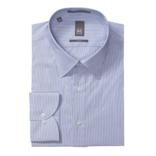 Ike New York Multi-Stripe Dress Shirt - Slim Fit, Long Sleeve (For Men) in Soft Blue - Closeouts