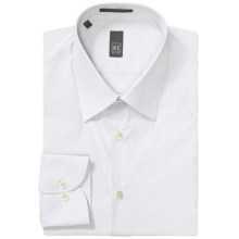 Ike New York Solid Dress Shirt - Slim Fit, Long Sleeve (For Men) in White - Closeouts