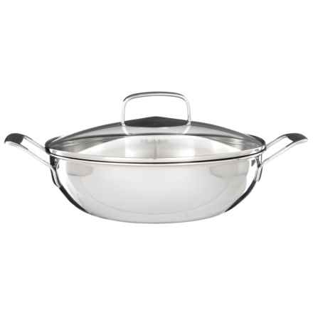 "Il Mulino Everyday Stainless Steel Steamer Pan - 3-Piece Set, 13"" in See Photo - Closeouts"