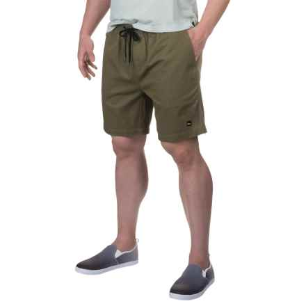Imperial Motion Bozeman Walk Shorts (For Men) in Olive - Closeouts