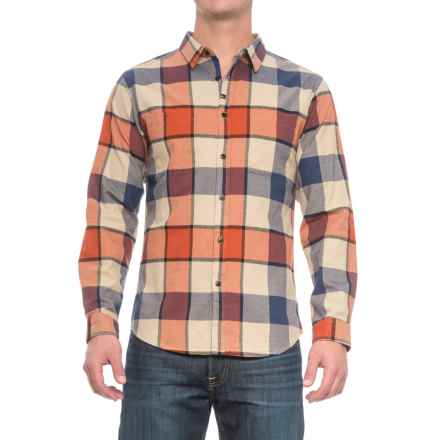 Imperial Motion Hanson Flannel Shirt - Long Sleeve (For Men) in Orange - Closeouts