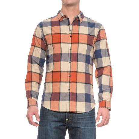 Imperial Motion Hanson Flannel Shirt - Long Sleeve (For Men) in Orange