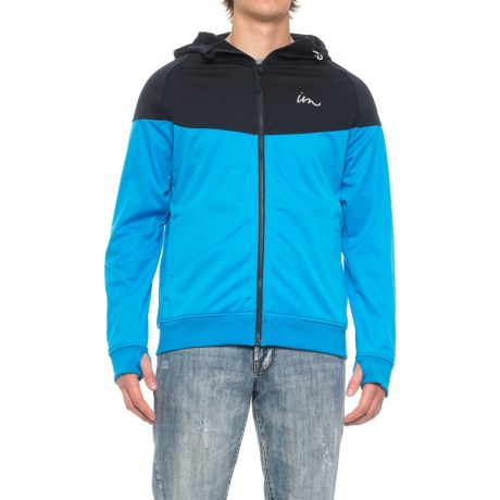 Imperial Motion Larter Tech Fleece Hooded Jacket - Full Zip (For Men) in Navy/Royal