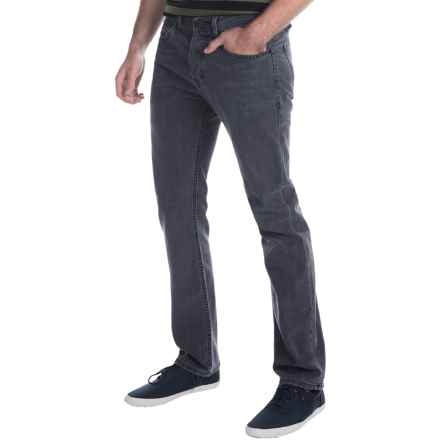 Imperial Motion Mercer Jeans - Slim Fit Straight Leg (For Men) in Steele Wash - Closeouts