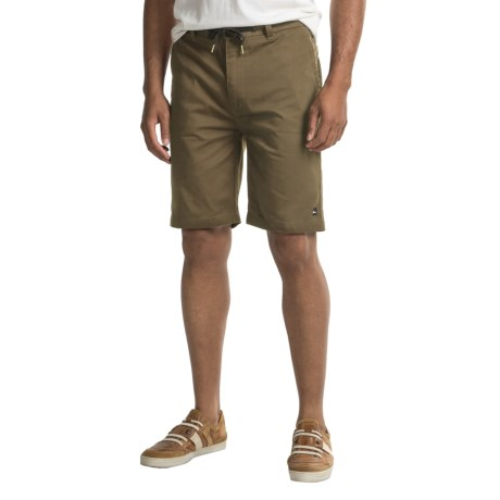Imperial Motion Murphy Walk Shorts (For Men) in Olive