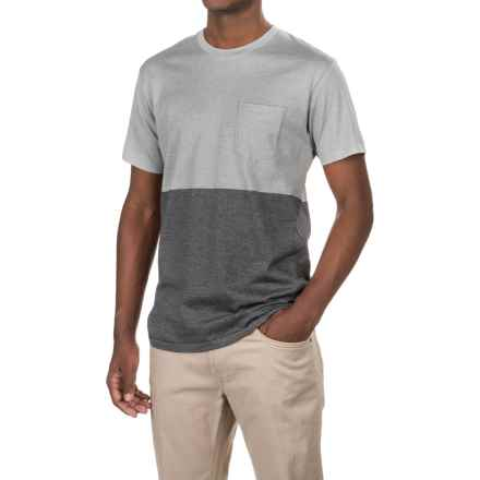 Imperial Motion Particle Pocket T-Shirt - Short Sleeve (For Men) in Grey/Charlcoal - Closeouts