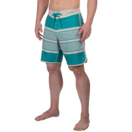 Imperial Motion Perf Boardshorts (For Men) in Scuba Blue - Closeouts