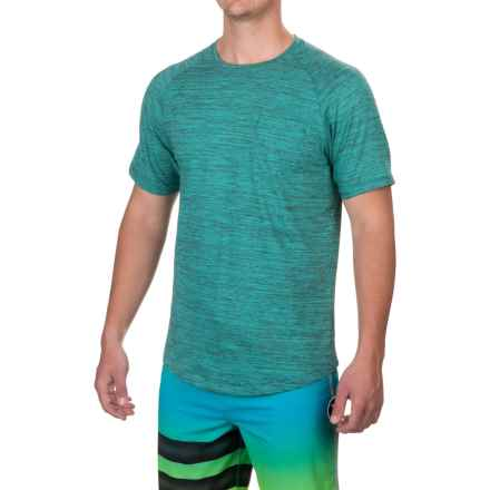 Imperial Motion Pocket T-Shirt - Short Sleeve (For Men) in Aqua Marble - Closeouts